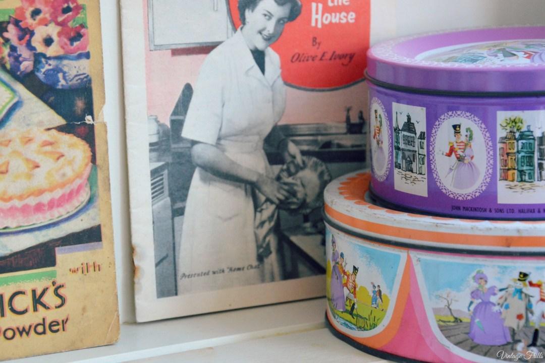 Vintage Quality Street Tins