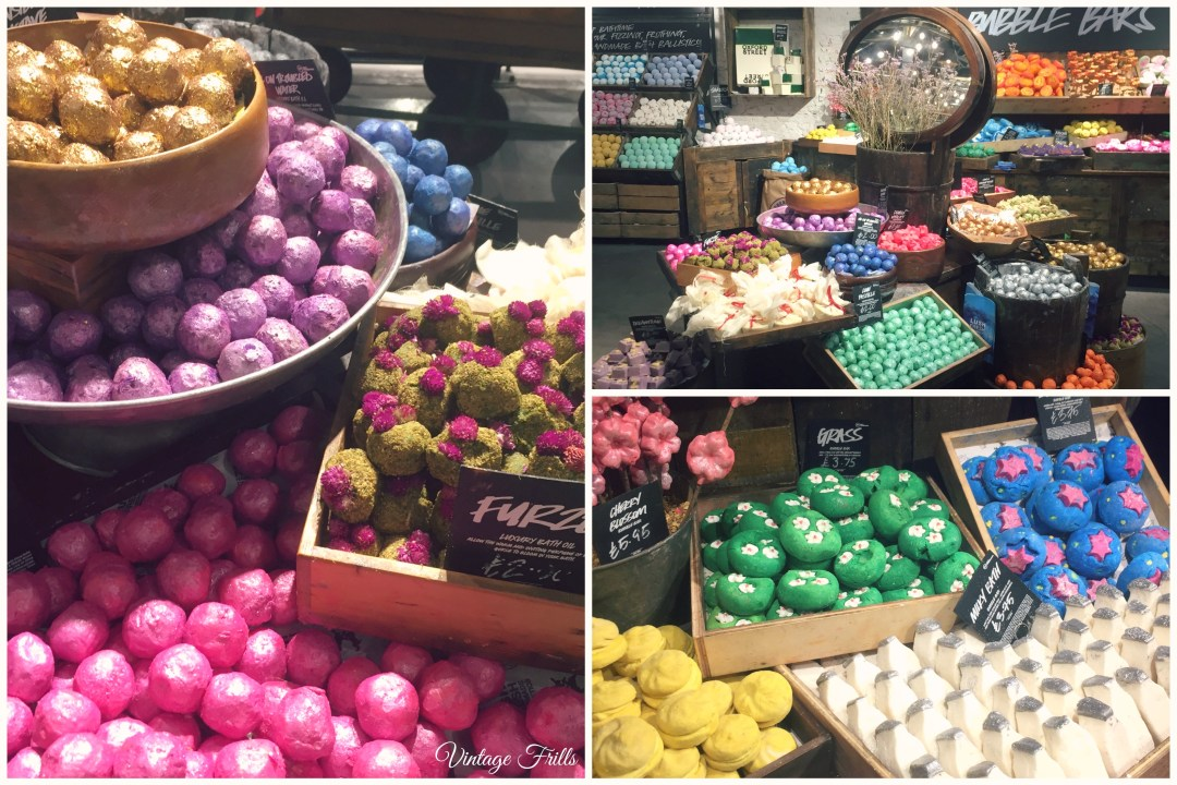 Lush Oxford Street Bath Products