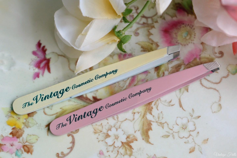 Slanted Tweezers The Vintage Cosmetic Company