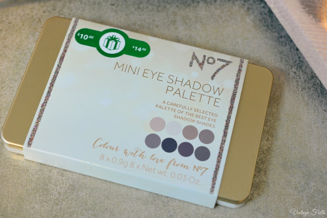 Boots No 7 Mini Eye Shadow Palette