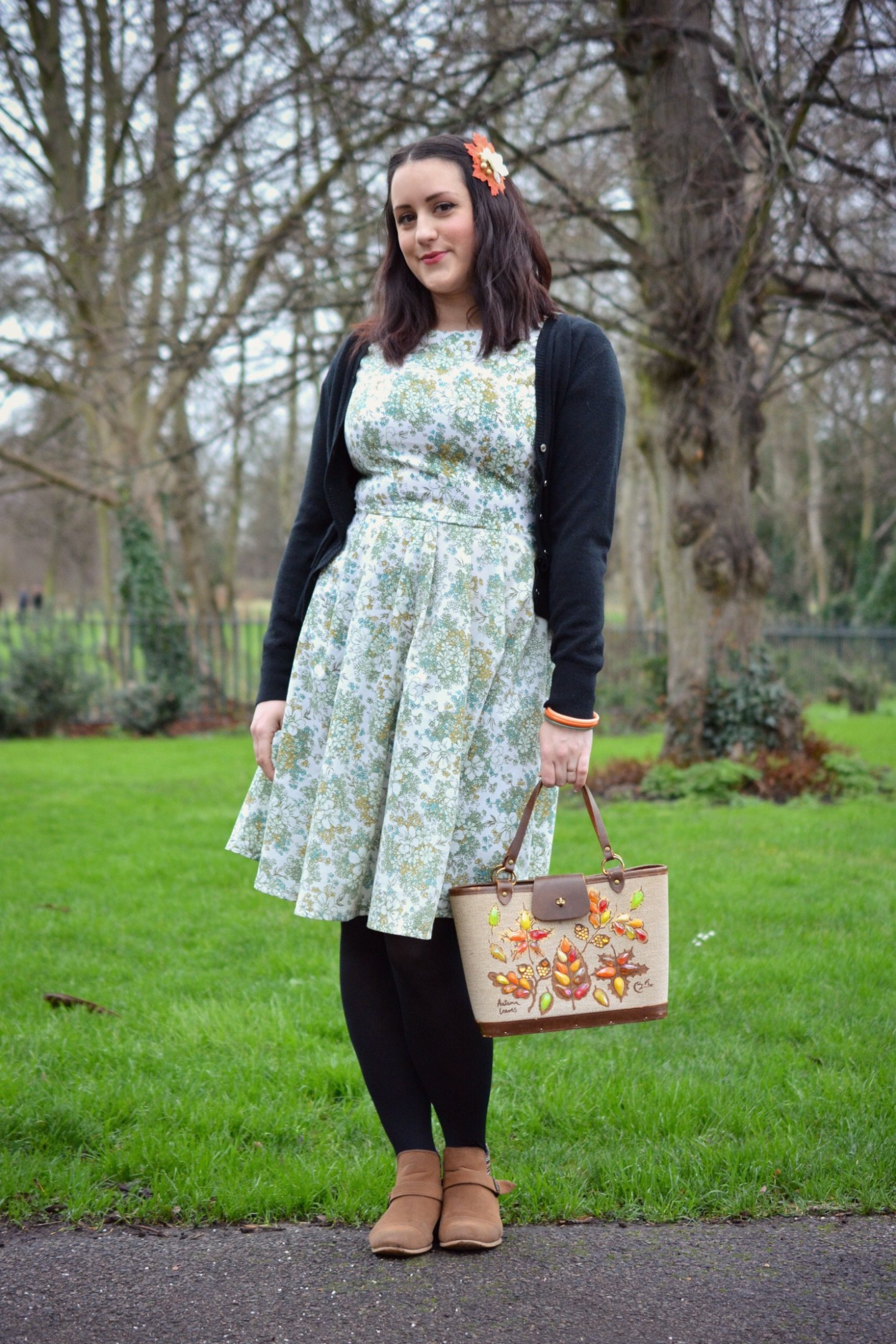 Home Made Vintage Style Dress