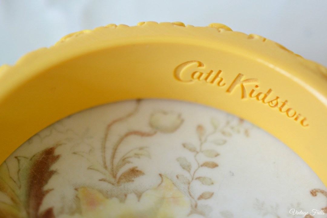 Cath Kinston Yellow Bangle