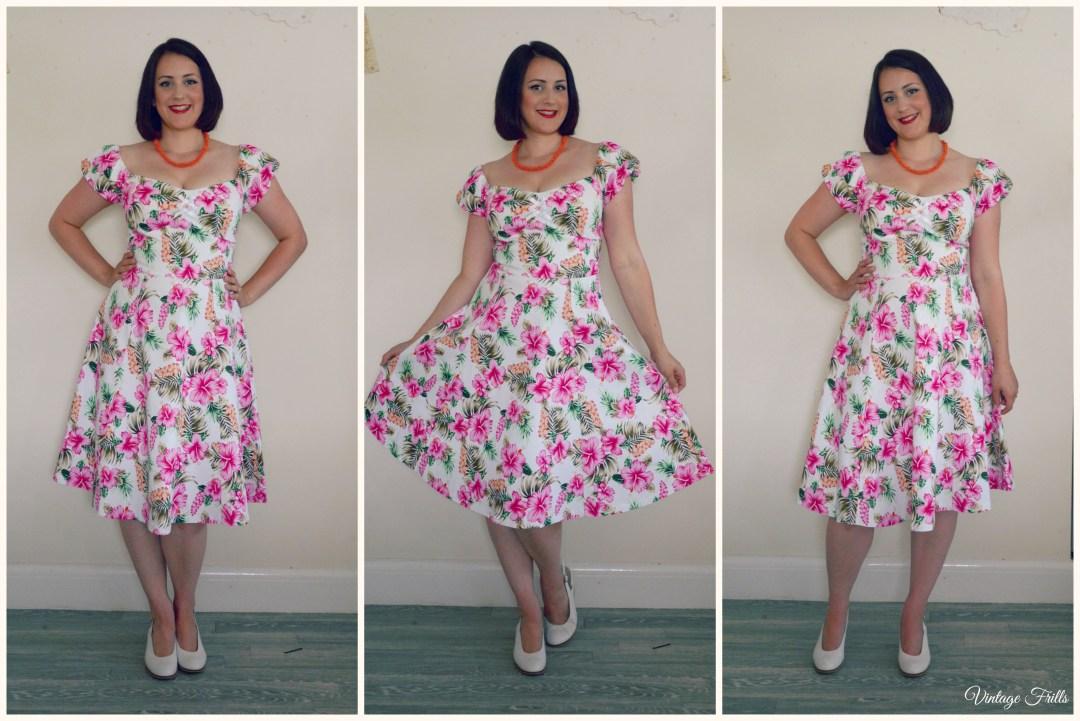 Lindy Bop Tropical Dress