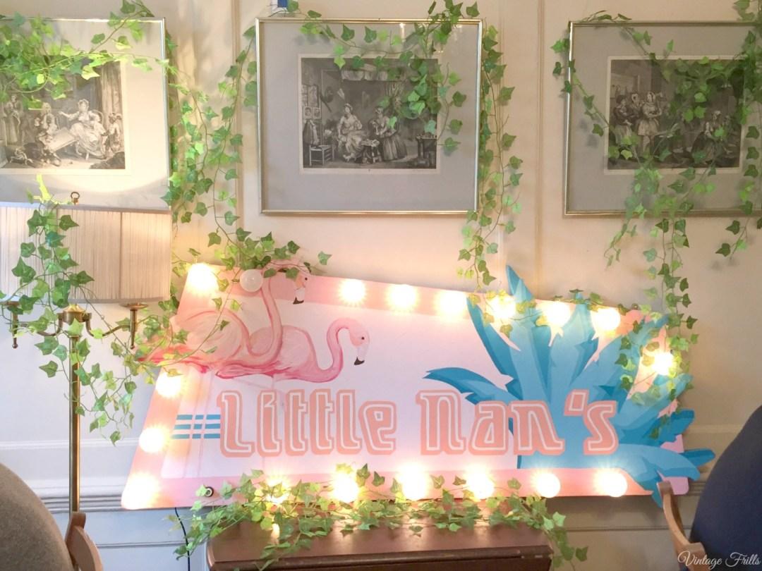 Little Nan's Pop Up Cocktail Bar Sutton house
