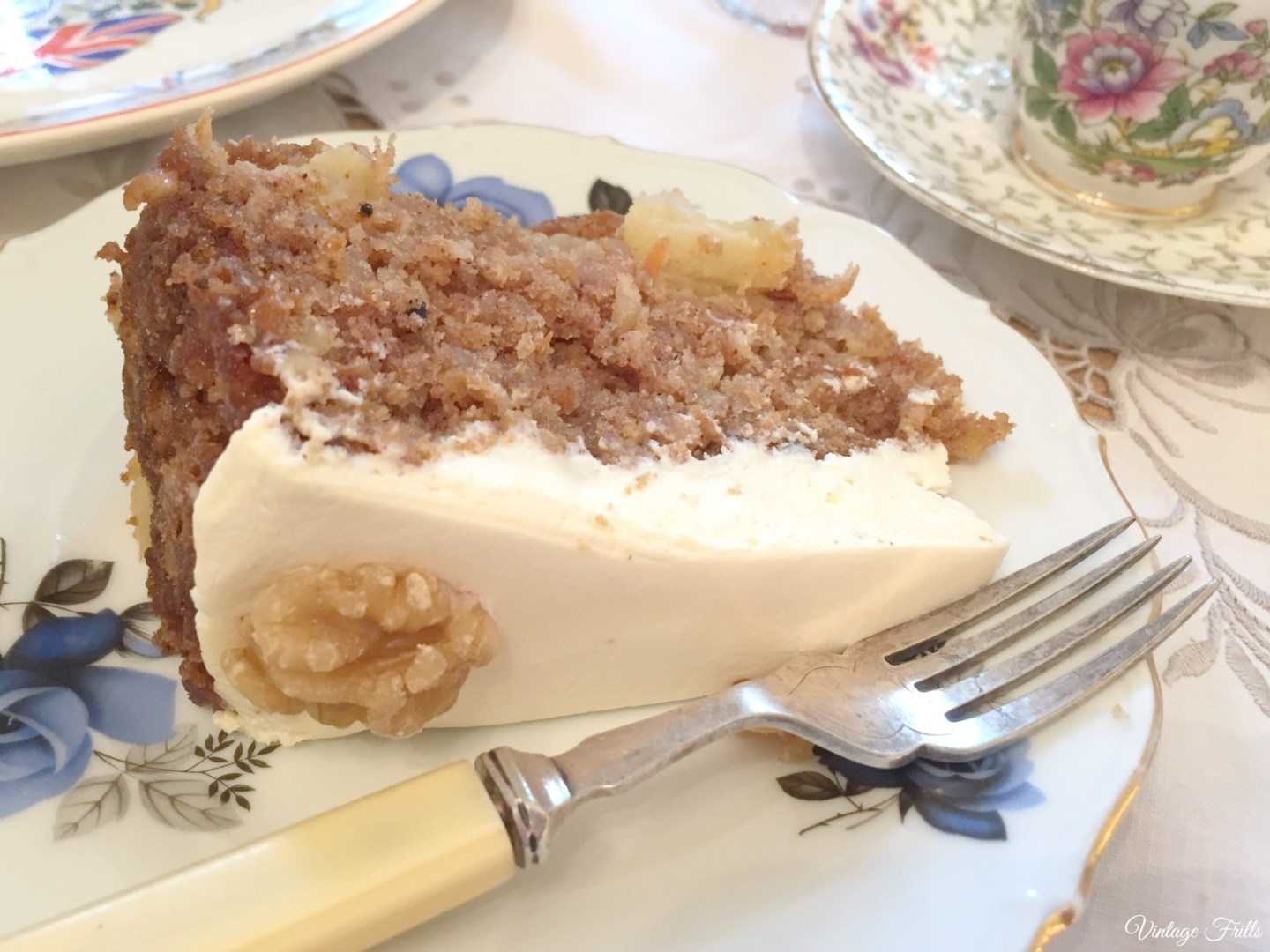Little Nan's Sutton House Afternoon Tea Carrot Cake