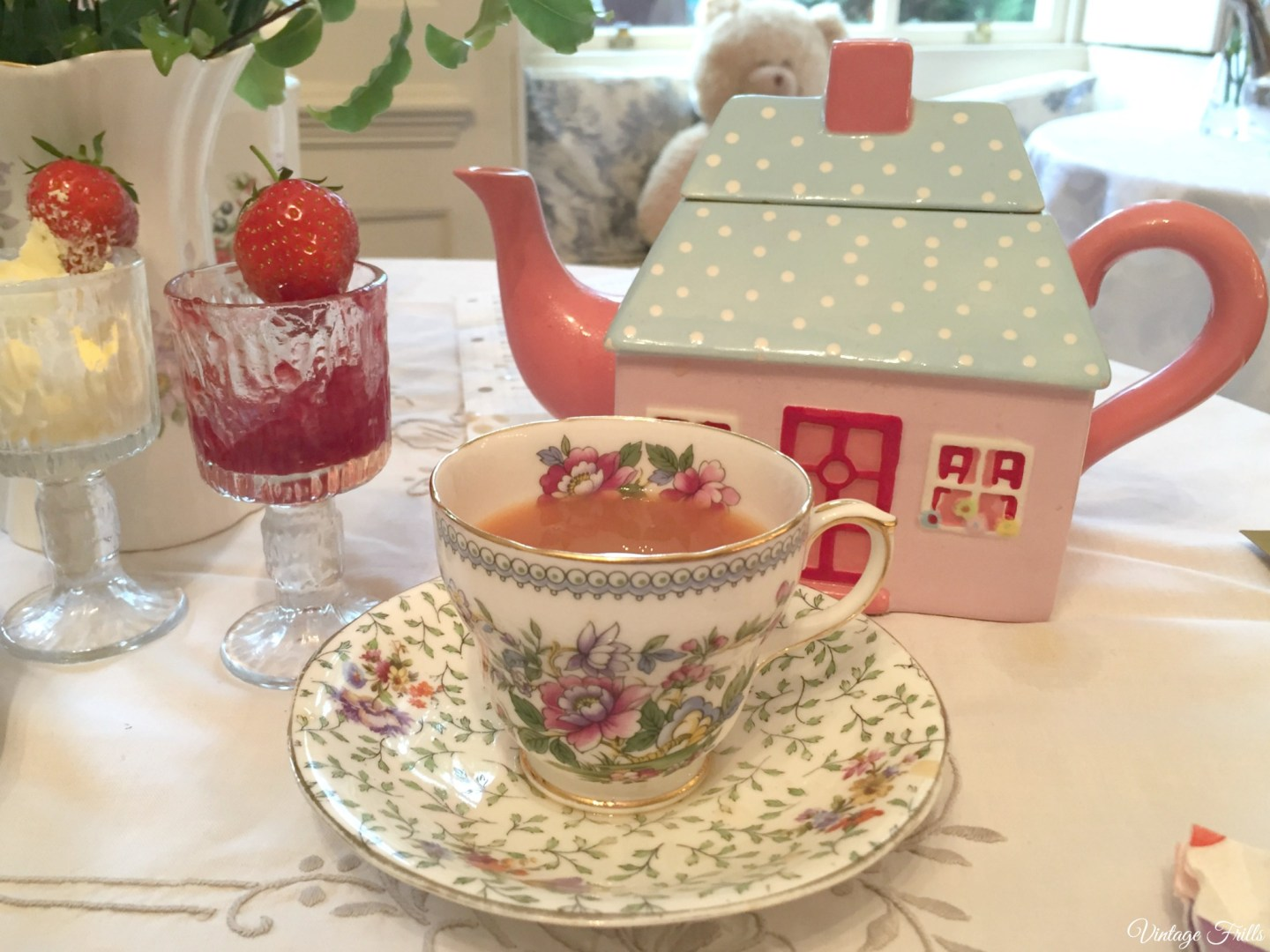 Little Nan's Sutton House Afternoon Tea Teapot Cocktail