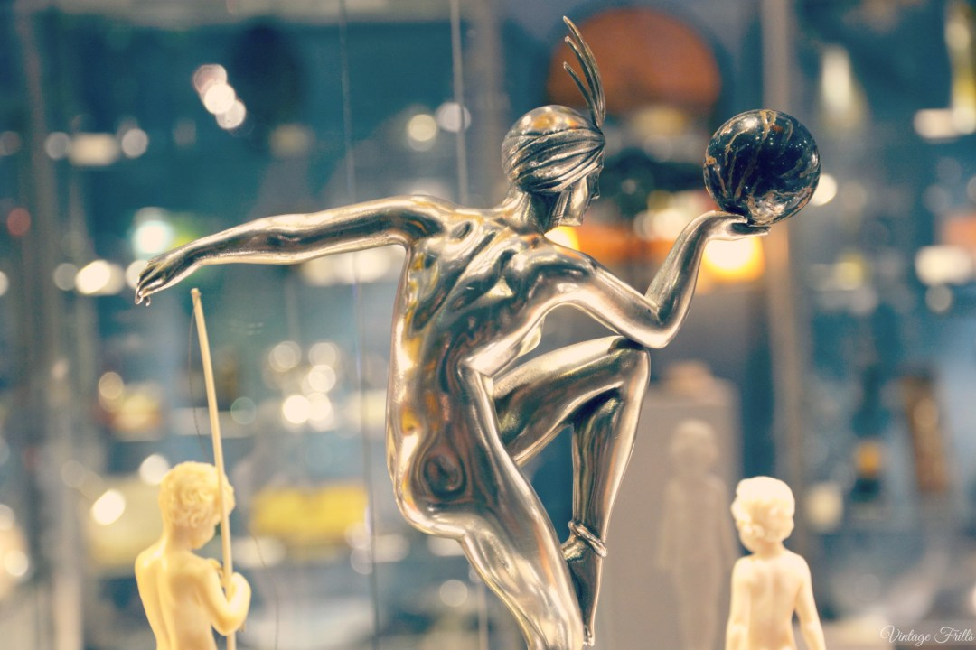 Olympia Art and Antiques Fair French Art Deco Bronze Figurine