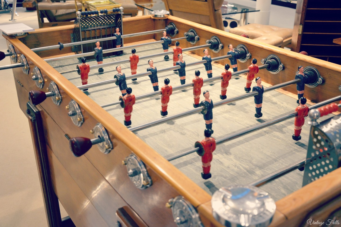 Olympia Art and Antiques Table Football