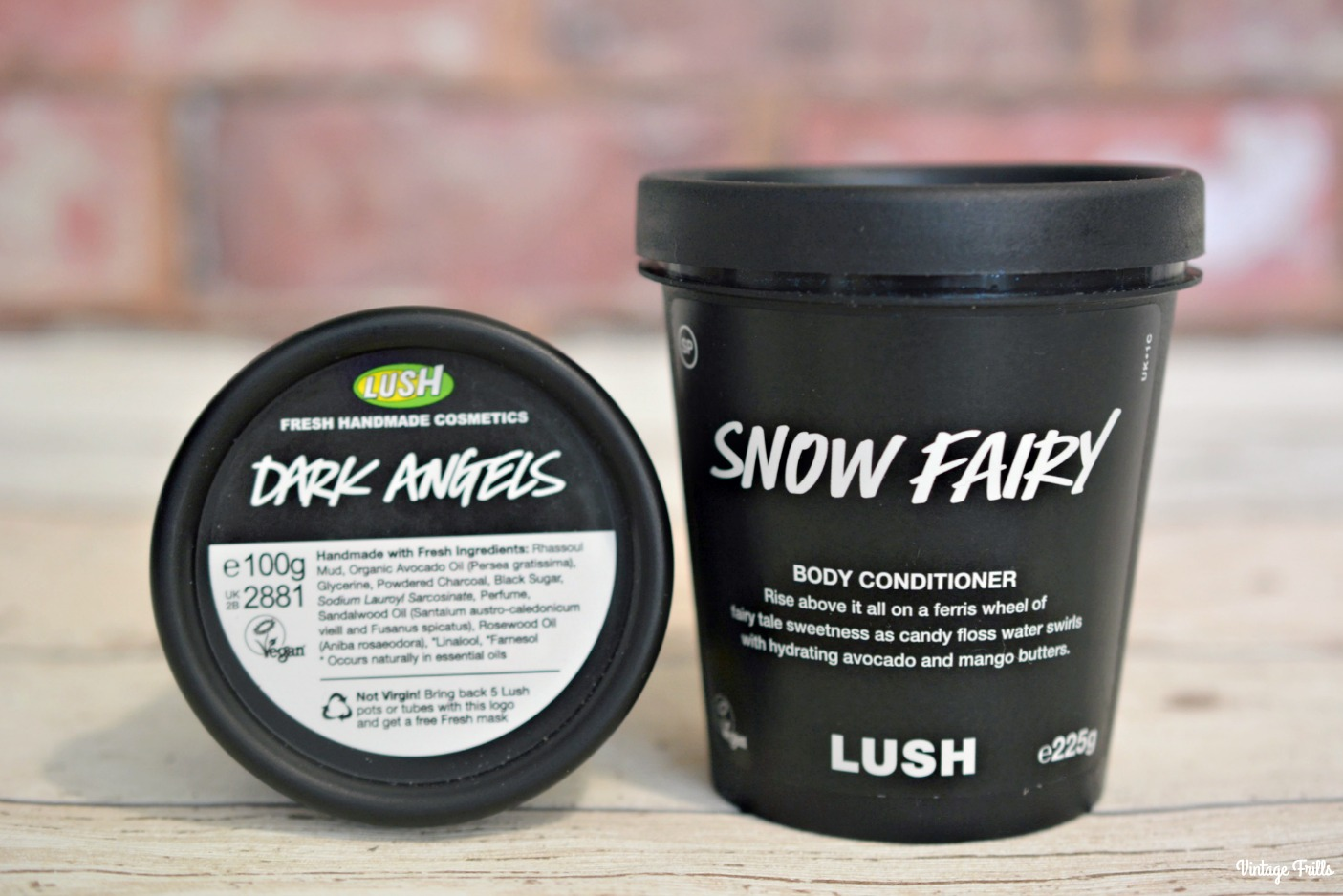 Lush Snow Fairy and Dark Angels