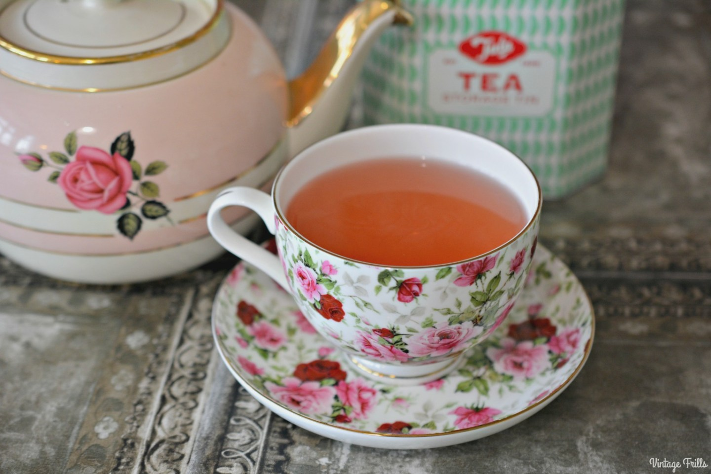 Tea Time – Whittard English Rose and Apple and Elderflower
