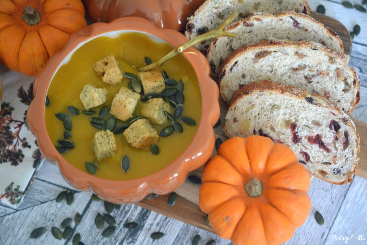 Delicious Pumpkin and Squash Autumn Soup