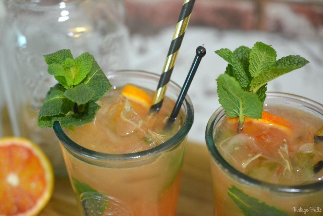 Blood Orange Mojito Recipe