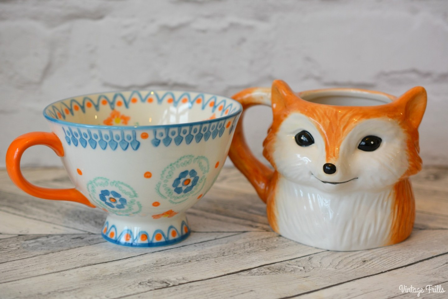 Laura Ashley Fox Mug