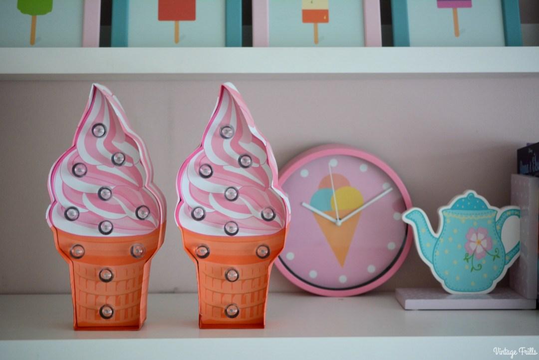 Ice Cream Theme | Ice Cream Lights