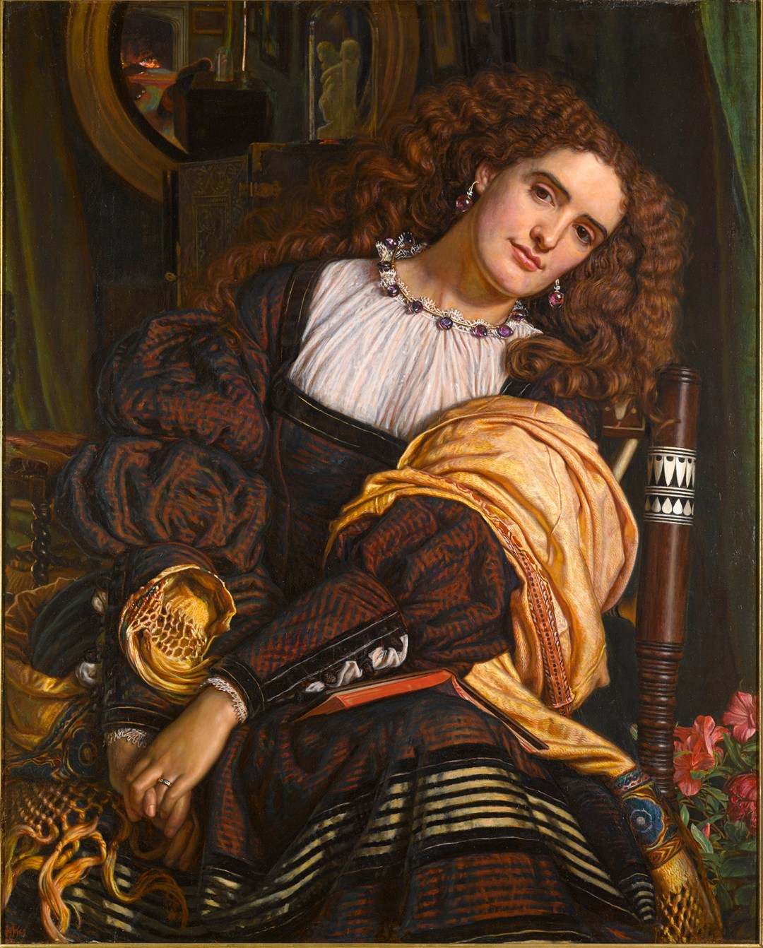 William Holman Hunt, Il Dolce Far Niente, 1866, Oil on canvas, Private collection © Photo courtesy of the owner