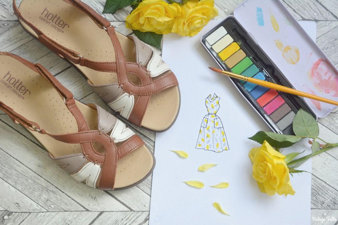 Hotter comfortable sandals wishlist