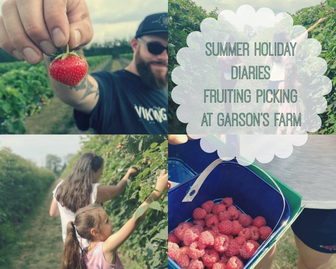 Fruit Picking at Garson's Farm