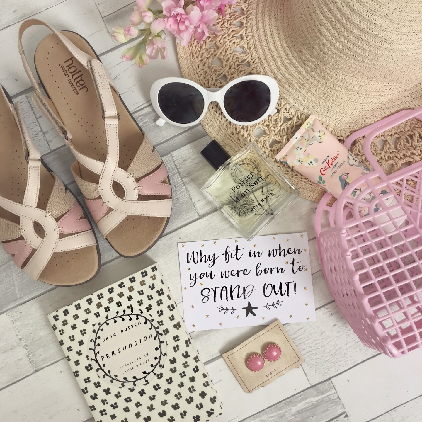 Summer Holiday Outfit Planning with Hotter Shoes