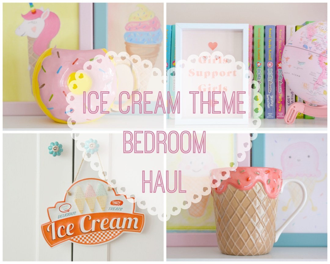 Ice Cream Theme | Ice Cream Bedroom Haul