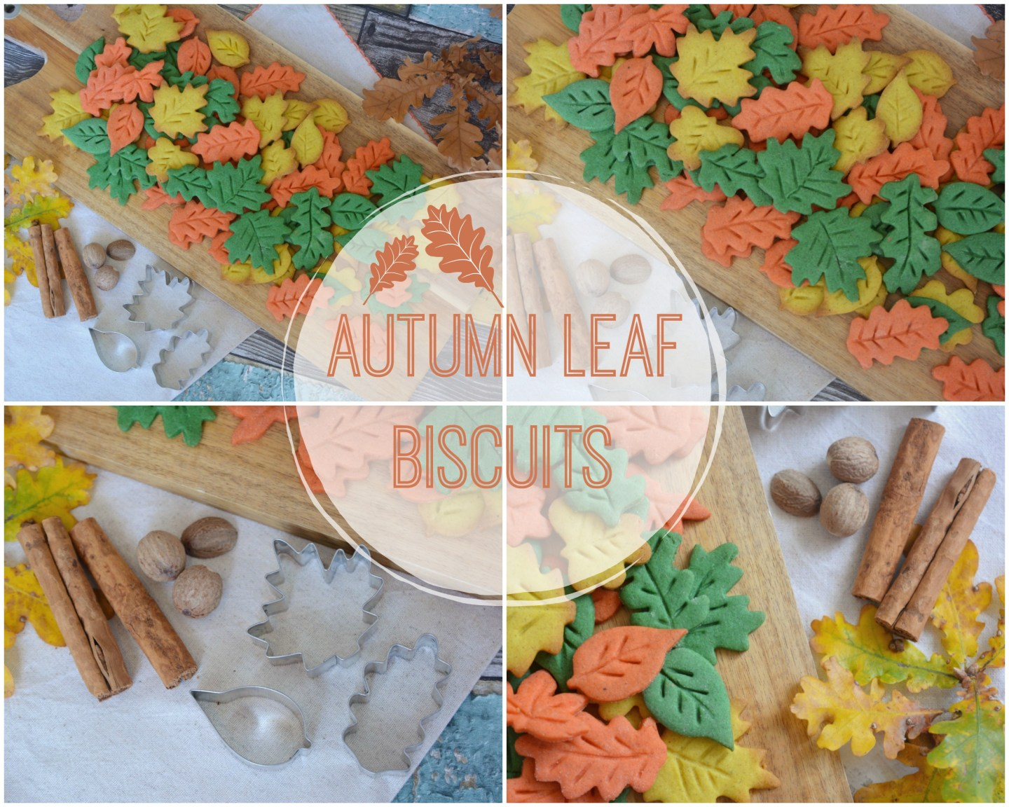 BAKING – Autumn Leaf Biscuits