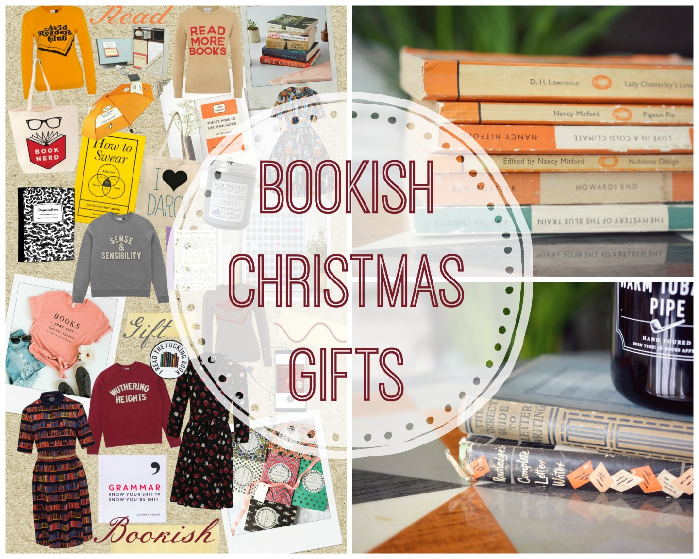 Christmas Gifts For Bookish Friends | Book Gifts