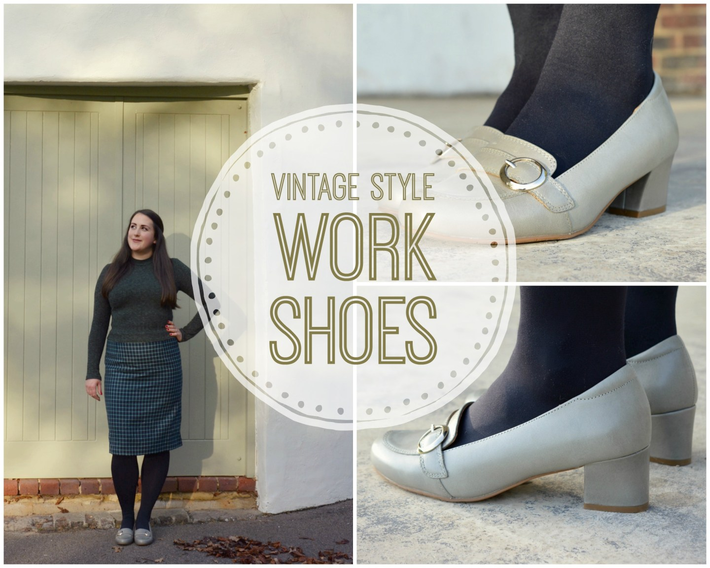 Perfect Vintage Style Work Shoes