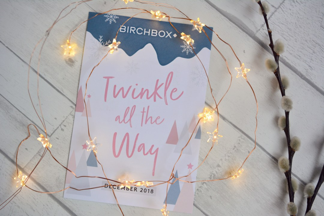 Whats in my December Birchbox | Birchbox Review December 2018 | Vintage Frills