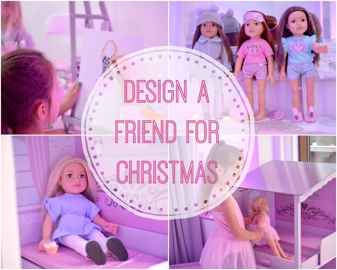 Design a Friend for Christmas | Design a Friend Dolls