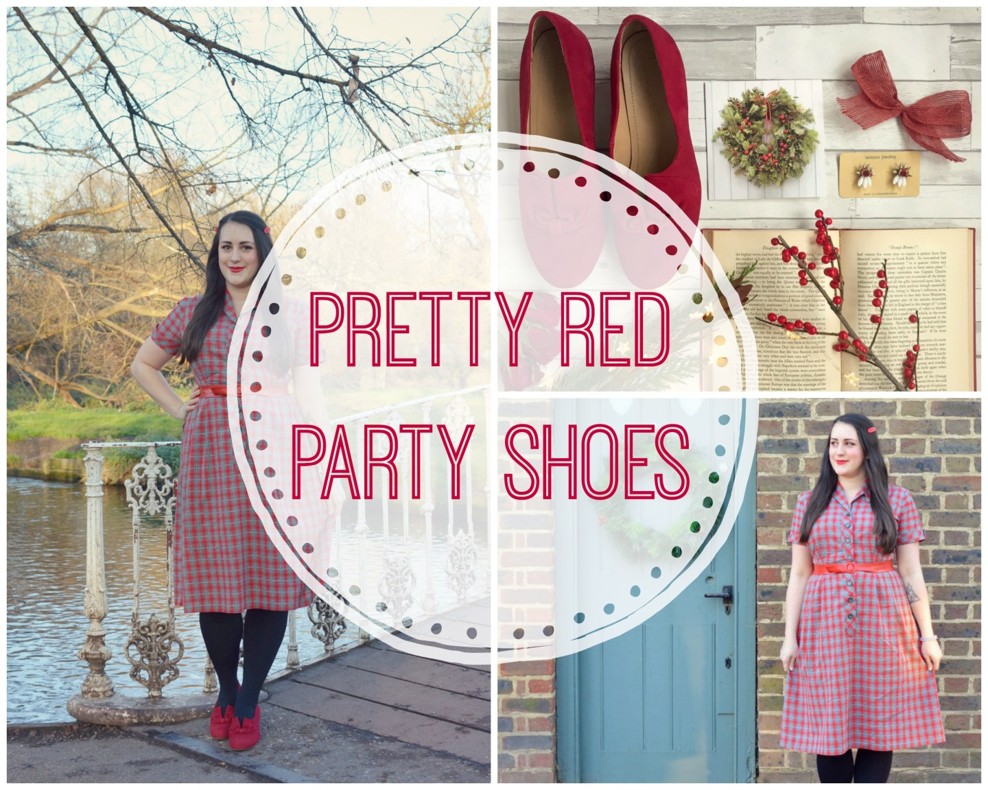 Pretty Red Party Shoes | Hotter Donna Shoe Review