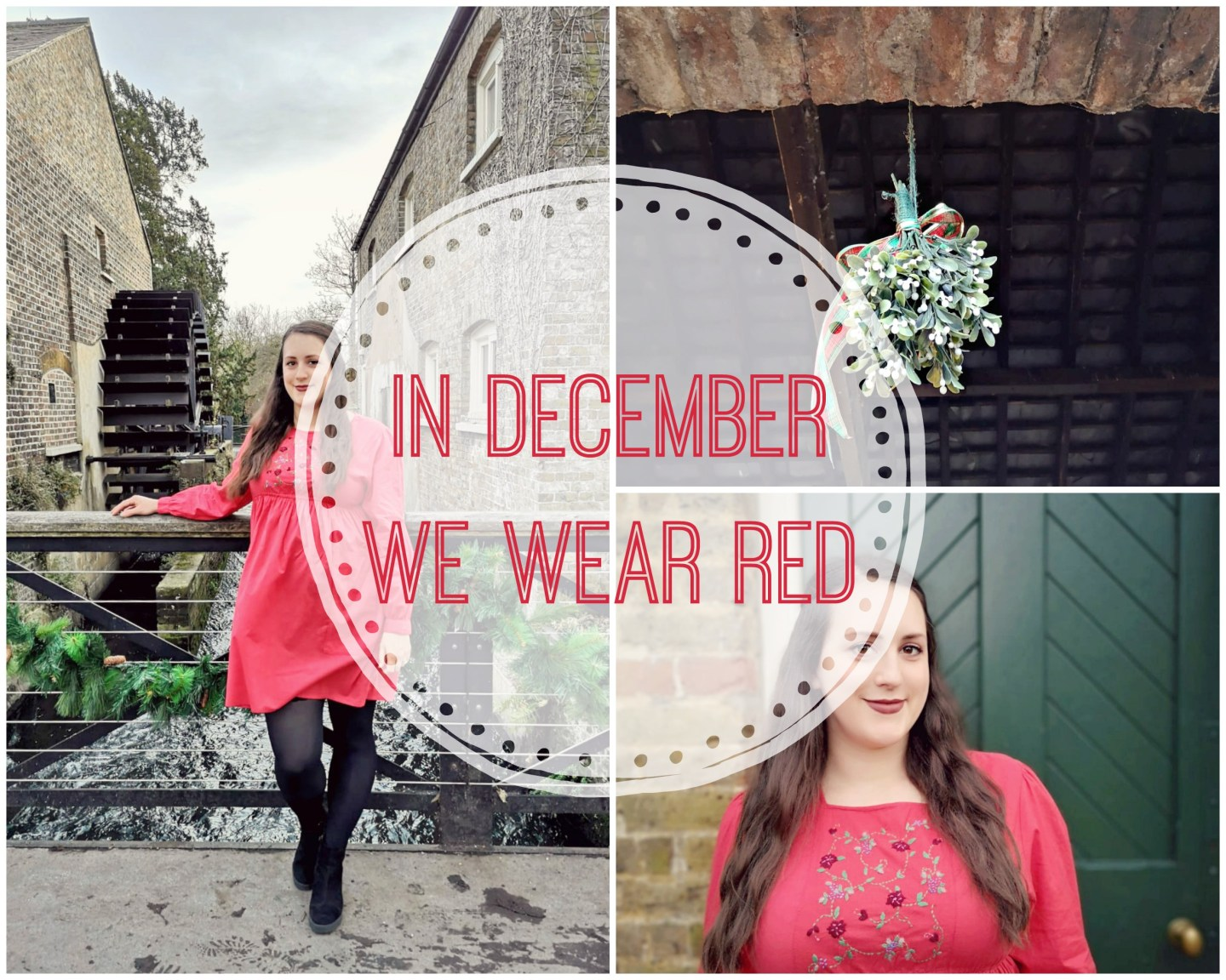 In December We Wear Red #Blogmas