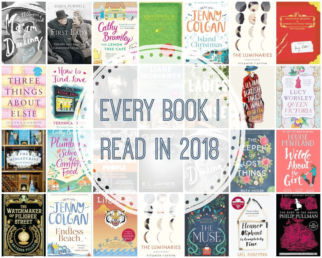 Every Book I Read in 2018