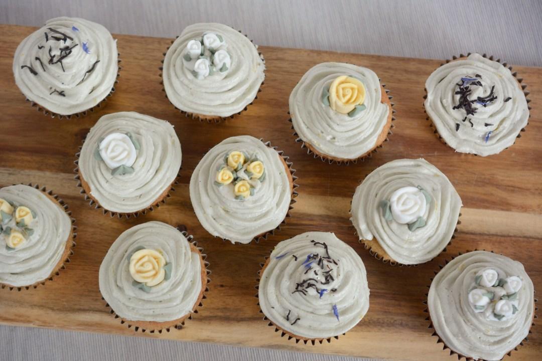 BAKING - Earl Grey and Lemon Cupcake Recipe | Vintage Frills