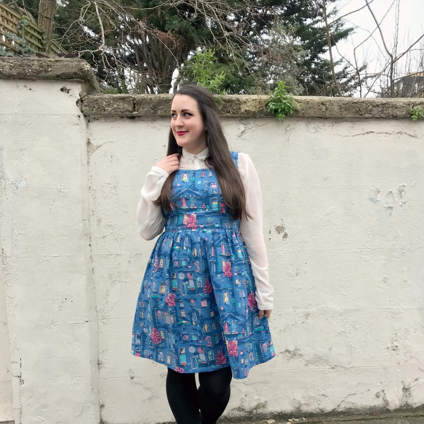 What I've Been Wearing - January 2019 | Cath Kidston Village Windows Dress | Vintage Frills