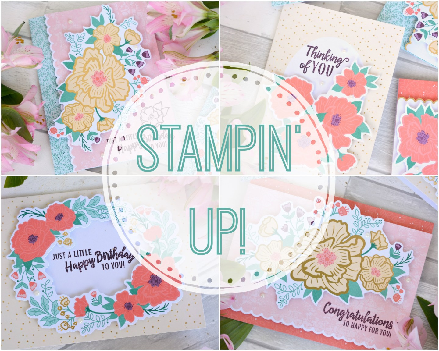 Stampin' Up – Making Lovely Home Made Greeting Cards