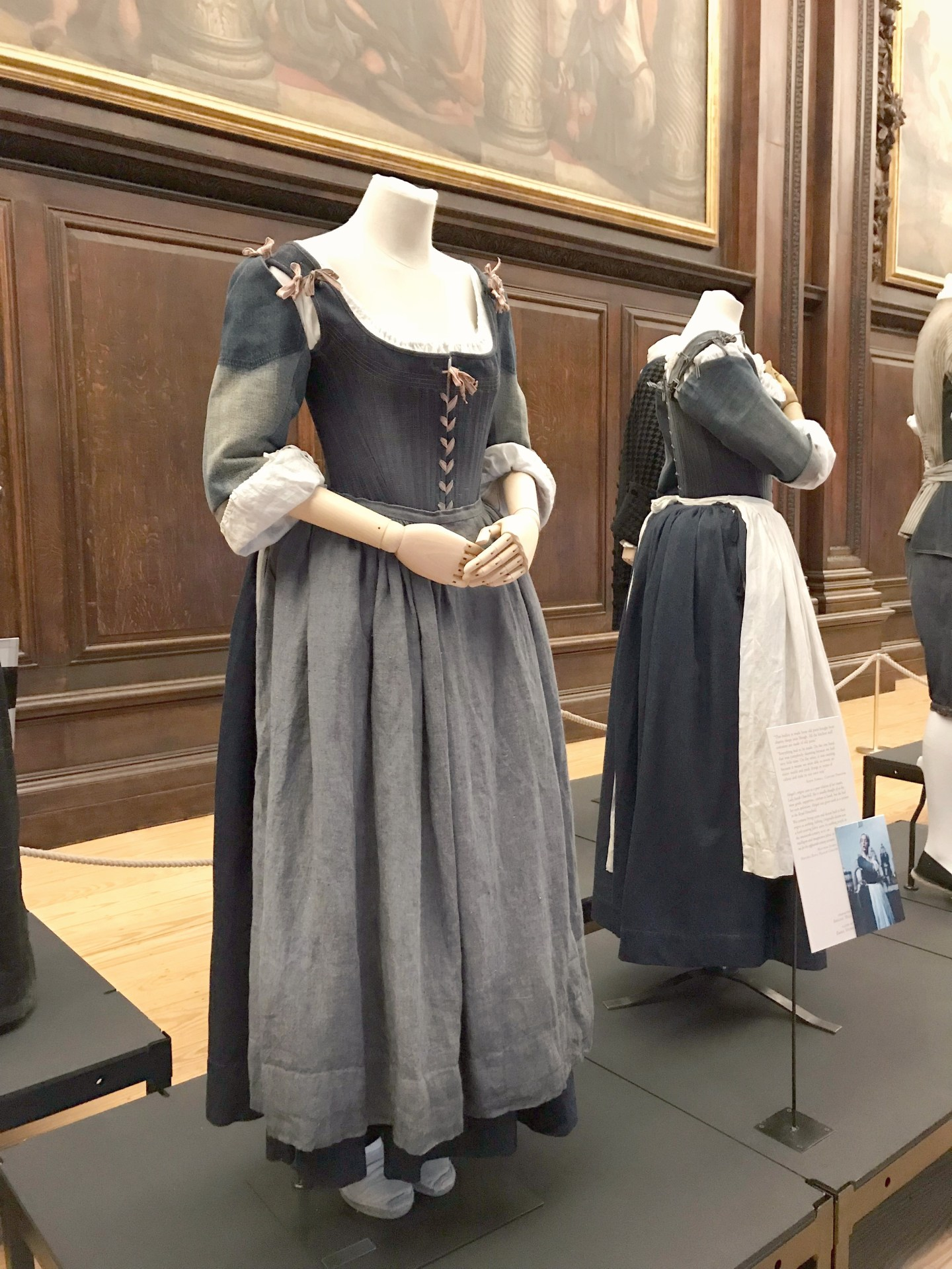 Seeing Costumes from The Favourite at Hampton Court Palace