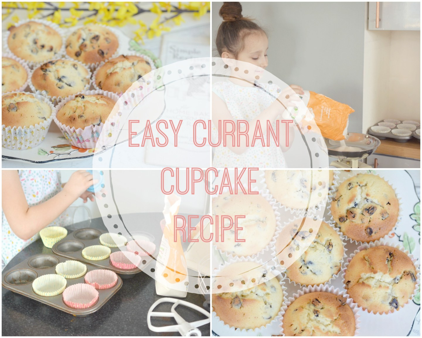 BAKING - Easy Currant Cupcakes Recipe
