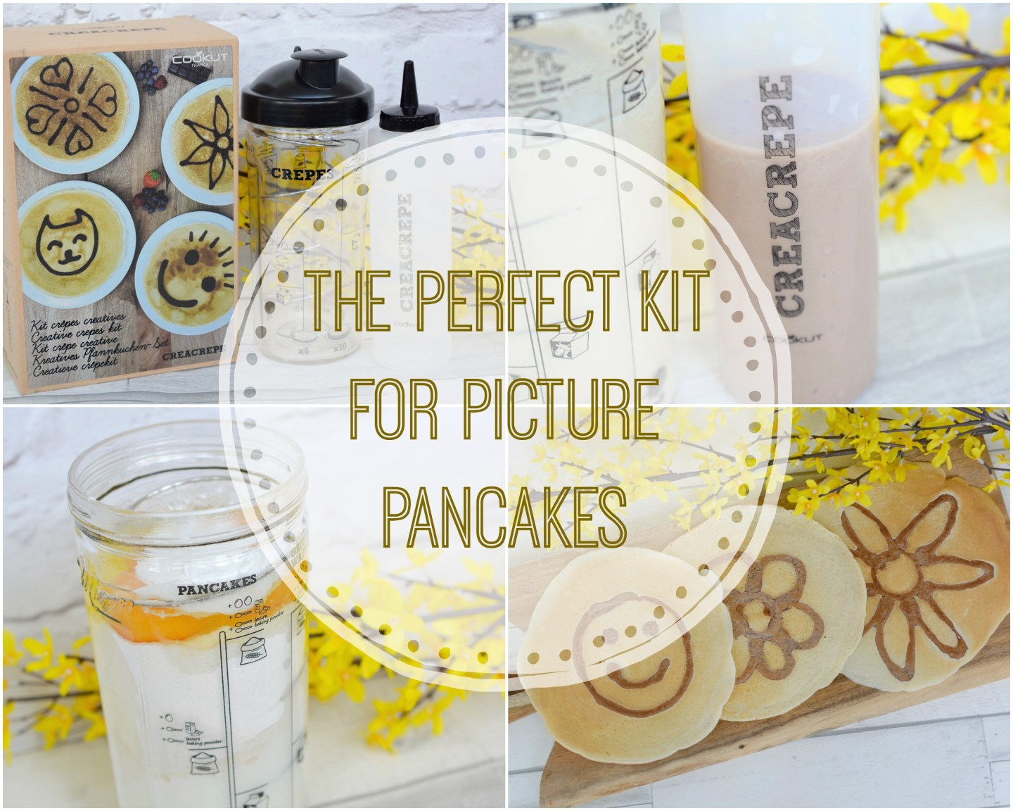The Perfect Kit for Picture Pancakes | Creacrepe - Creative Crepe Kit | Vintage Frills