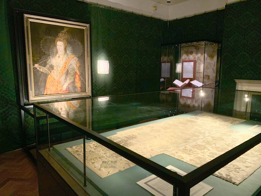 See the Lost Dress of Elizabeth I at Hampton Court Palace | The Bacton altar cloth