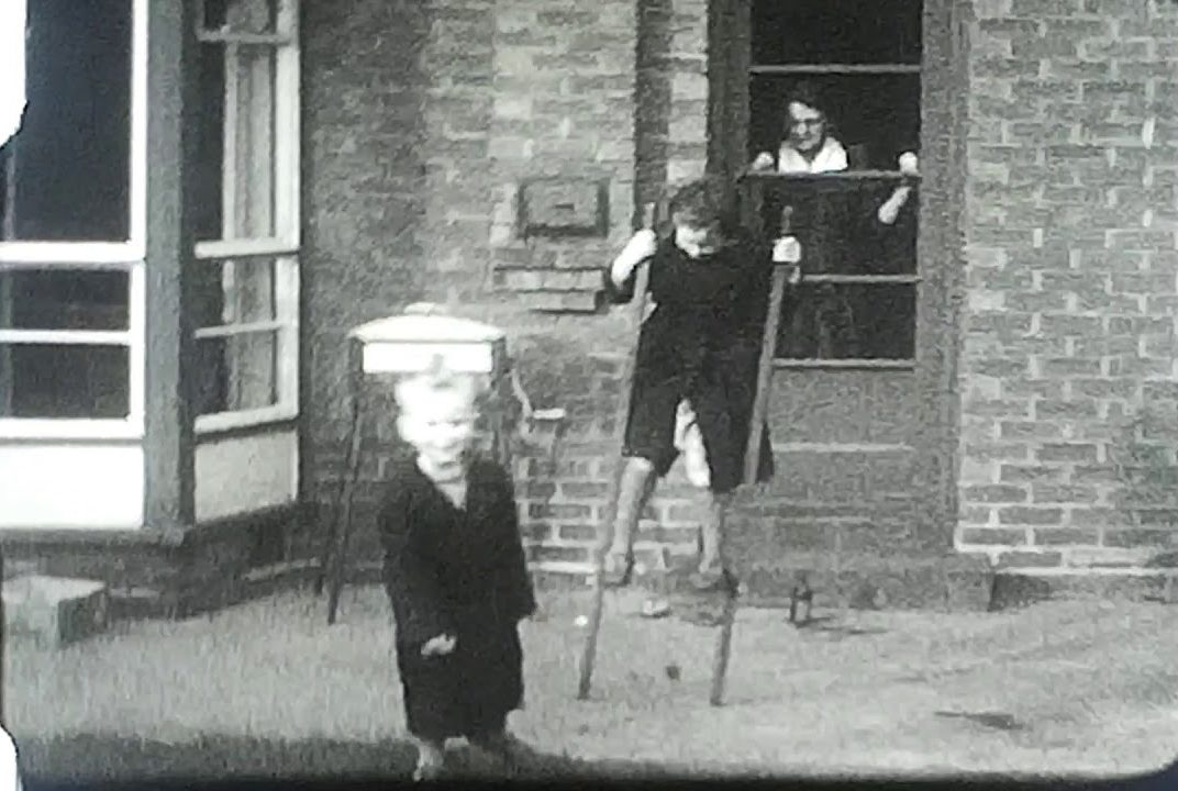 A family on Stilts, Boxing day 1954