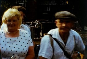 A still shot from a typical home movie which shows several different scenes and events
