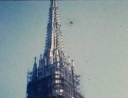 A Still from an 8mm home movie of a trip to Croatia and Vienna