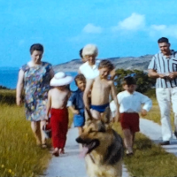 A seaside holiday in the 1960s