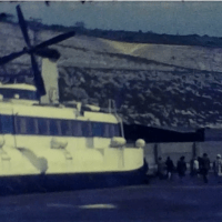 Hovercraft trip to France in 1973