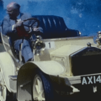 Fascinating film of a vintage car display from 1962