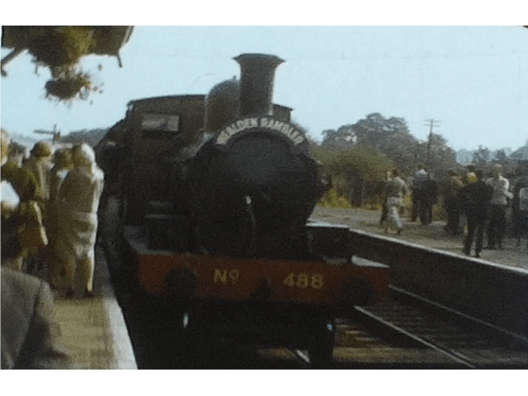 Charming Bluebell line Steam Railway film from 1963 2