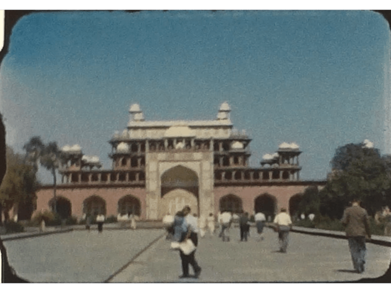 Historic film of Delhi in India from the early 1960s 5