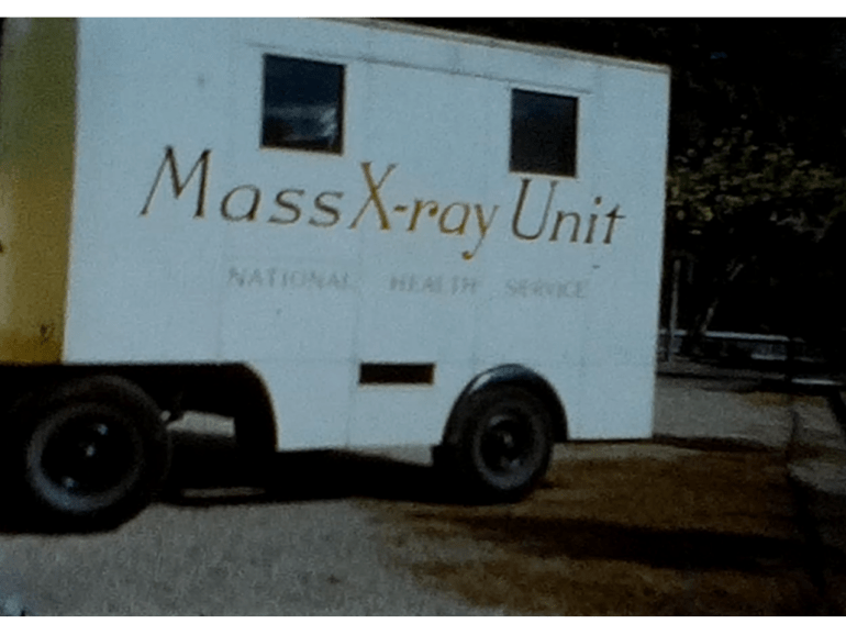 The NHS Mobile X-Ray unit at St Andrews in the 1950s 3