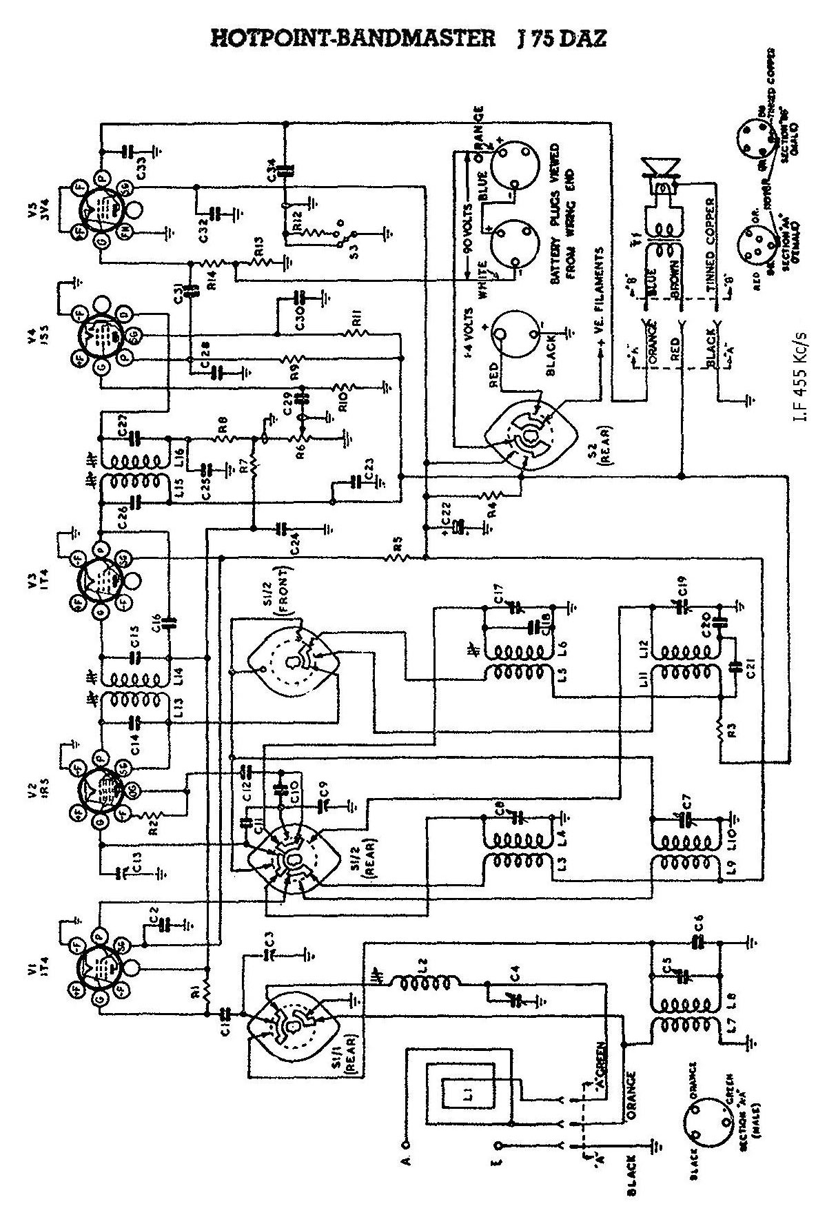 Wiring Diagram For Ge Monogram Refrigerators, Wiring, Free