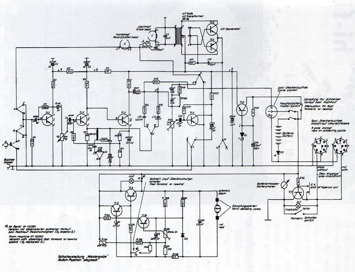 Vintage Technics Minifon Hi Fi