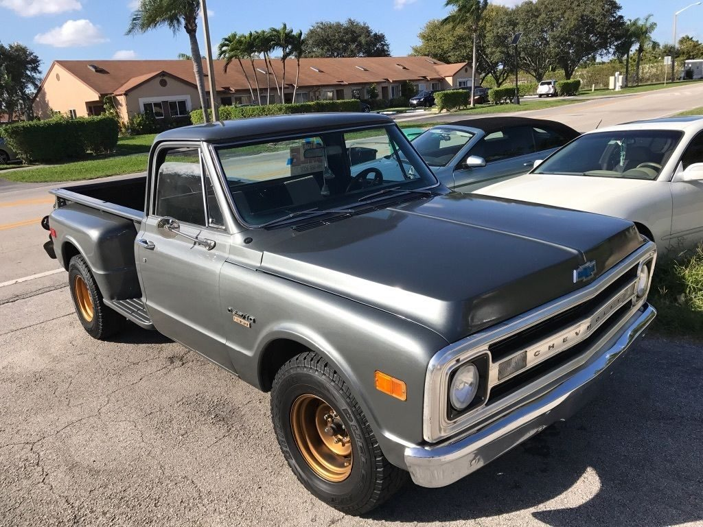 hight resolution of 1970 chevy c10 custom step side long bed